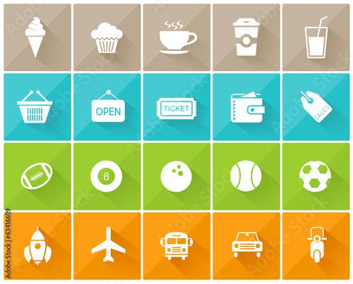u0026quot icones loisirs u0026quot  fichier vectoriel libre de droits sur la