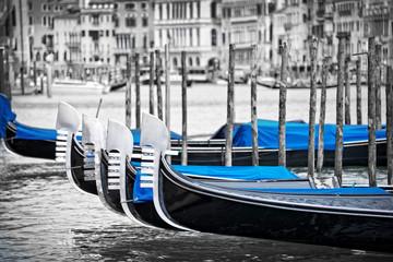 Foto op Canvas Gondolas Venice gondolas