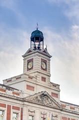 Real Casa de Correos building in Madrid, Spain.