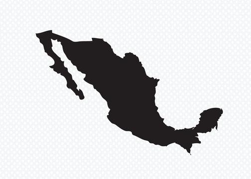 map of Mexico Decorative idea design