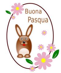Cartolina d'auguri per Pasqua