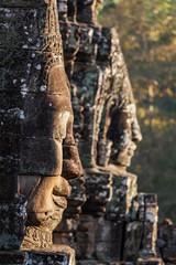 Fototapete - Faces of Bayon temple, Angkor, Cambodia