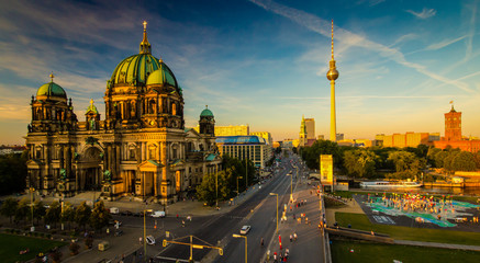 Foto auf Leinwand Berlin Berlin - city view