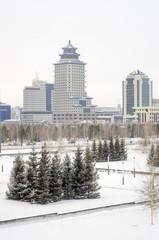 Астана, первый день весны