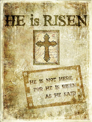 """He Is Risen"""" Religious Background"""
