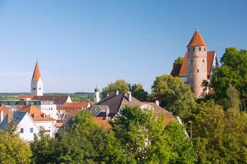 Fotomurales - Allgäu, Kaufbeuren, St. Blasius, Blasiusturm, Dreifaltigkeitski