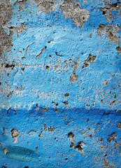 blue tuscan wall grunge background