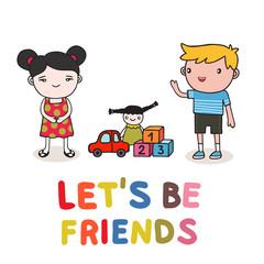 kids friendship