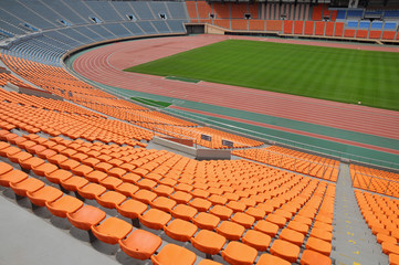 Photo sur Aluminium Stade de football スタジアム