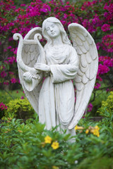 Sculpture of angel in Park