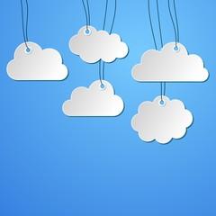 Foto op Plexiglas Hemel Clouds background