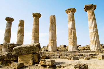 Temple of Eracle - Valley of the Temples, Agrigento
