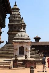 Tempelanlage von Bhaktapur in Kathmandu Nepal