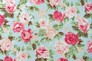 Fabric Rose Pattern