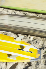 Stand Up Paddle Surfboards Copacabana Beach Rio Brazil