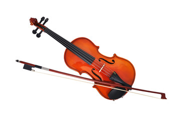 violoncello with fiddlestick