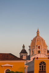 Classical architecture in Cartagena