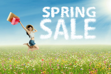 Happy spring sale