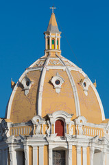 San Pedro Claver Church dome Cartagena