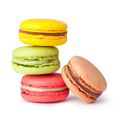 Photo sur Plexiglas Macarons Tasty colorful macaroon