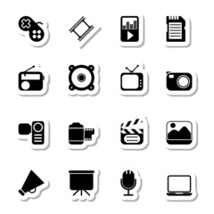 Multimedia Icons as Labels