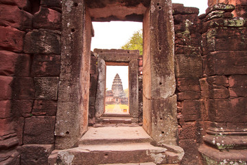 Phimai Historical Park is the Khmer temple in Thailand
