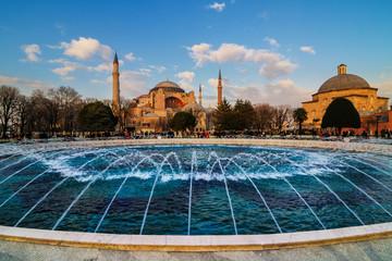 Hagia Sophia church Istanbul Turkey
