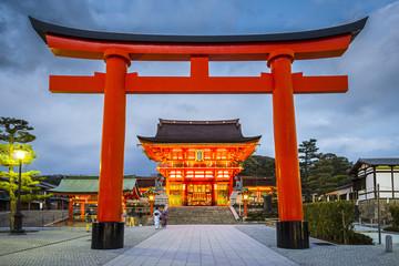 Fushimi Inari Taisha Shrine, Kyoto, Japan Wall mural