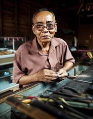 Portrait of Cambodian Man