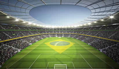 Wall Mural - Stadion Brasil 5