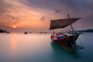 The Fishing boat, Thailand