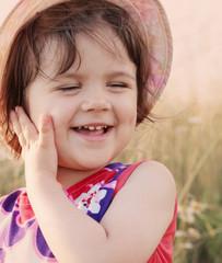 little girl outdoor