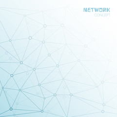 Social or technology network background