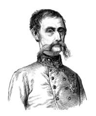 Moustachied Man - Moustachu - 19th century
