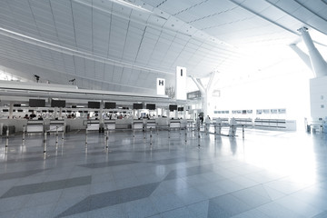 Interior of Haneda International Airport, Japan