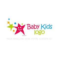 logo baby kids, logo d'entreprise