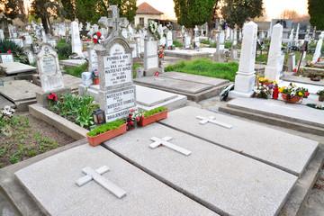Foto auf Acrylglas Friedhof cemetery