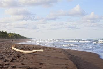 Atardecer en Tortuguero, Costa Rica