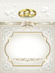 Postcard for wedding day