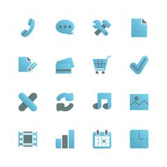 Ecommerce iconset for web design