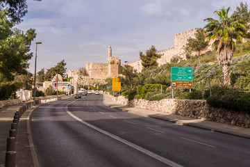 Fototapete - Tower of David