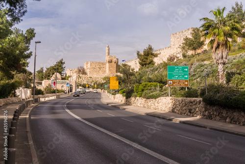 Fototapete Tower of David