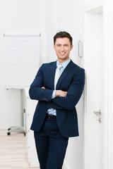 erfolgreicher junger unternehmer