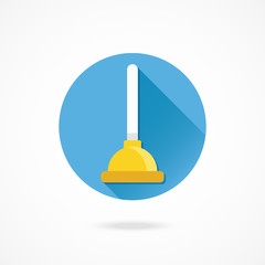 Vector Plunger Icon