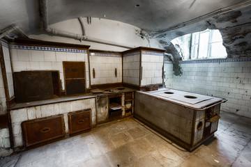Fototapeta old kitchen