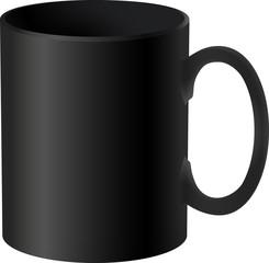 Vector Black Cup