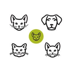 Animals. Vector format