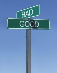 Good Bad Sign