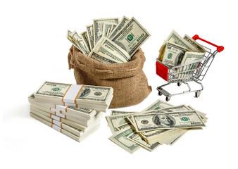 Bagful money