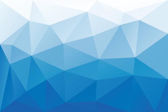 Blue triangles